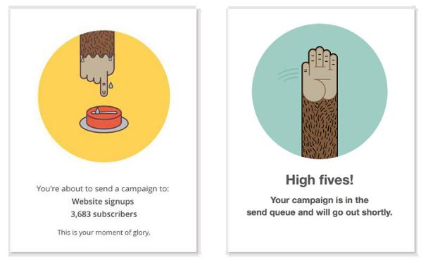 Rozesílání emailů pomocí MailChimp